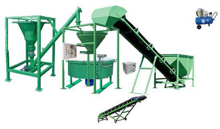 Оборудование для производства бетона