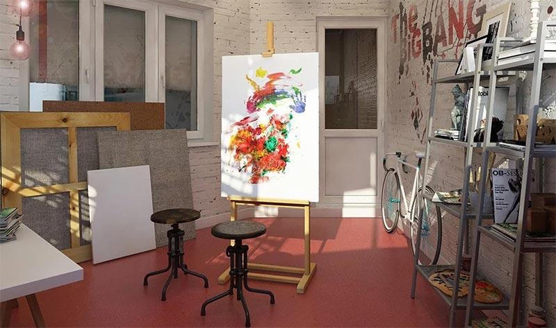 Реклама творческой мастерской