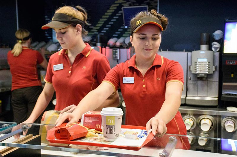 Работницы ресторана