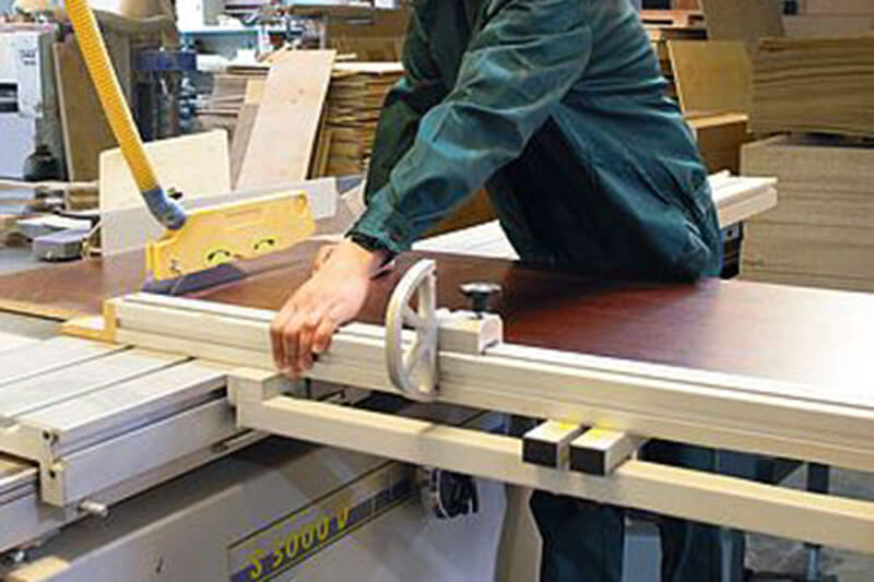 Концепция цеха по производству мебели