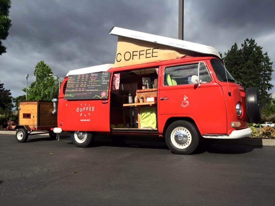 место расположения кафе на колесах