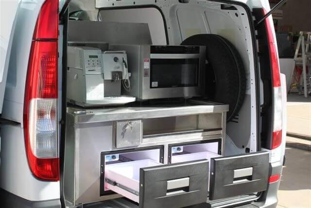 оборудование для кафе на колесах