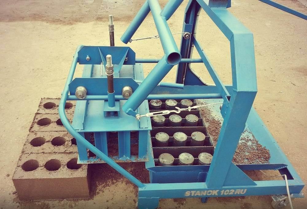 Выбор оборудования для производства шлакоблоков